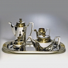 Sterling silver tea & coffee service